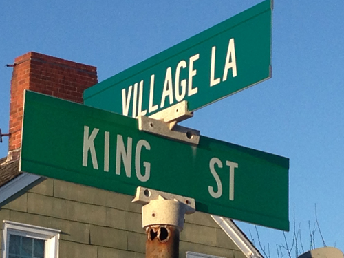The board OK'd a parking restriction on Village Lane and King Street in Orient. (Credit: Cyndi Murray)