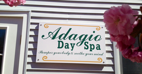 ADAGIO DAY SPA COURTESY PHOTO | Adagio Day Spa will open May 9 in Cutchogue.