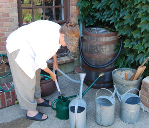 Diane Hewett Courtesy Photo | example of a rain barrel.