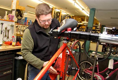 North Fork bike