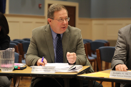 JENNIFER GUSTAVSON PHOTO | District business administrator Michael Engelhardt