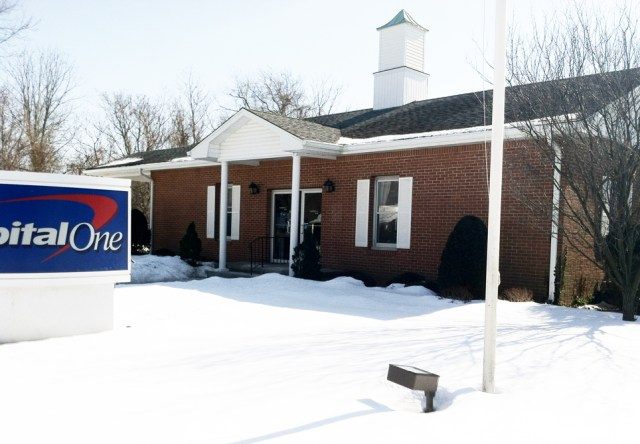 The building at 1491 Main Road used to house a North Fork Bank branch.  (Credit: Michael White)