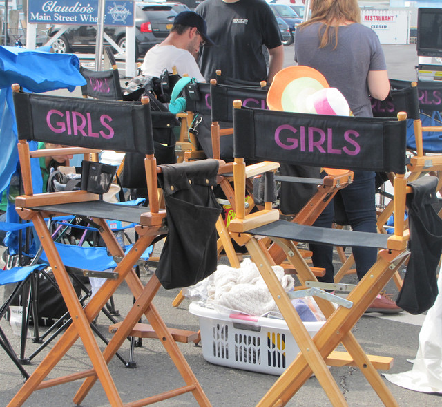 The hit HBO series 'Girls' filmed in Greenport Village in 2013. (Credit: Cyndi Murray, file)