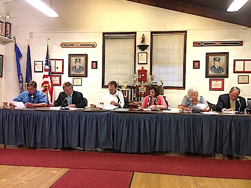 The Greenport Village Board is holding a budget meeting Monday. (file photo)