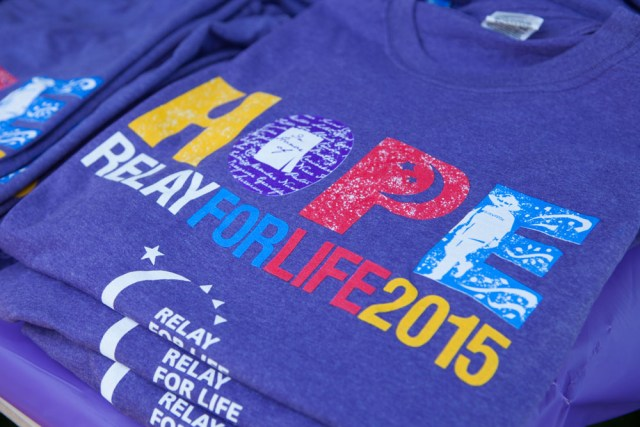 The Relay for Life T-shirt. (Credit: Katharine Schroeder)