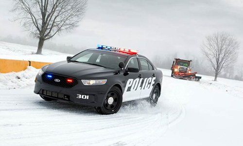 The Ford Police Interceptor sedan. (Credit: Ford courtesy photo)