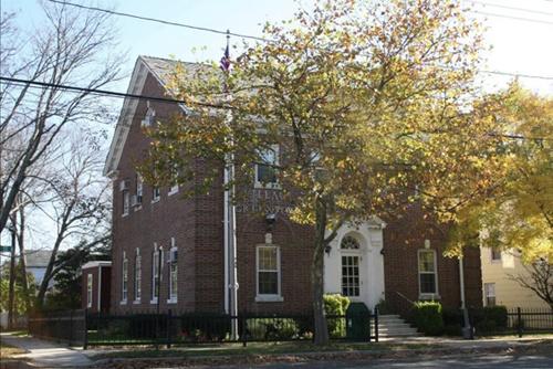 Greenport Village Hall.