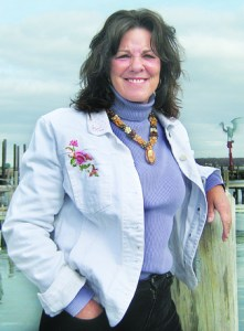 Former seagoing chef Karen Wells.