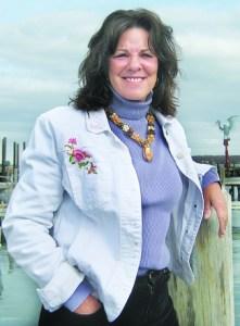 Former seagoing chef Karen Wells.