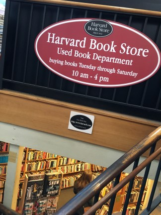 Used book sign