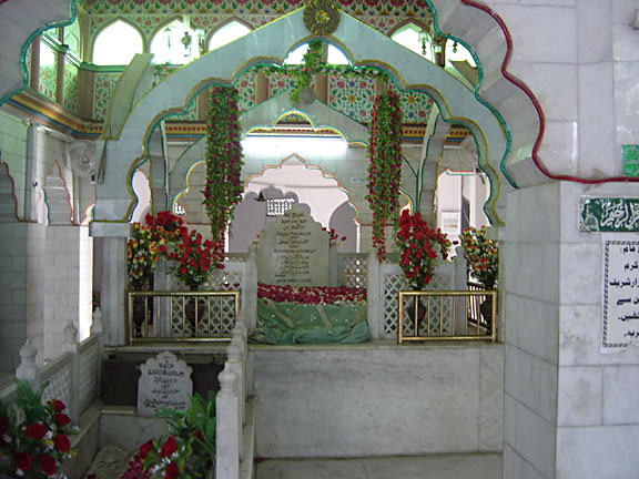 The mother of Hazrat Nizamuddin Awliya, New Delhi.