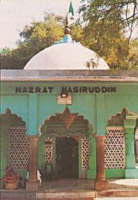 The dargah of Khwaja Nasiruddin Chiragh of Delhi