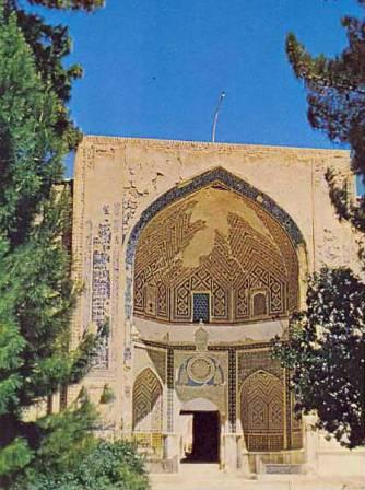Gate to the shrine of Khwaja Abdullah Ansari, Herat