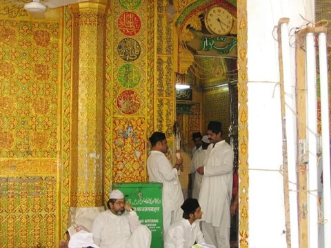 The dargah of Khwaja Mo'inuddin Chishti, Ajmer