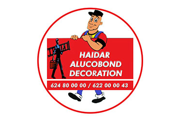 HAIDAR ALUCOBOND DECORATION