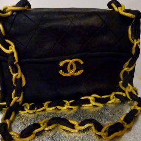 Chanel 2.55 handbag cake