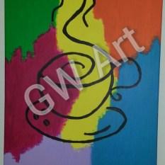 """Acrylic on canvas (18*24)"""""""