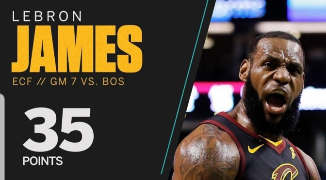 Who will LeBron James meet in his 8th straight NBA Finals?!