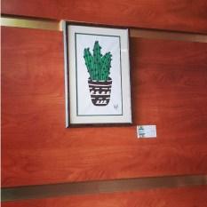 Framed Acrylic on Canvas Wall Art - SOLD