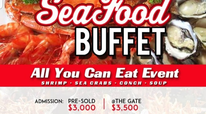 Seafood Buffet Tomorrow!