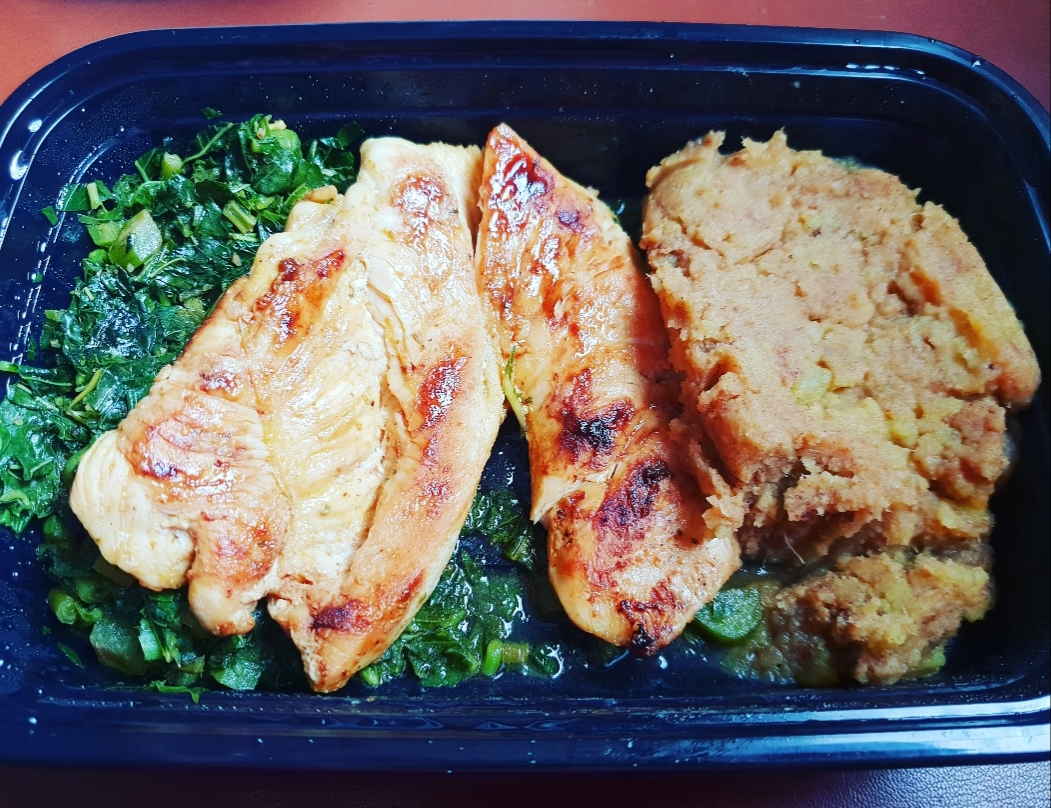 Suga's Lunch from The Easy Diet Store lst Wednesday, October 17, 2018.