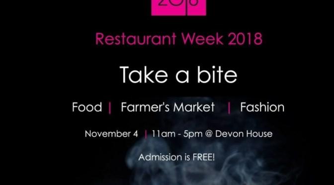 Restaurant Week  2018 launches this Sunday at Devon House