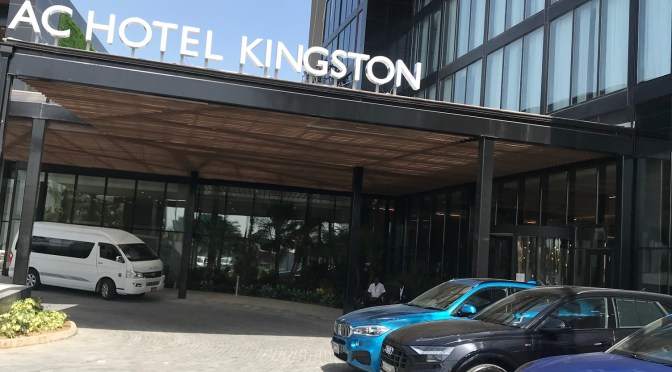 How is the AC Lounge at the NEW AC Hotel Kingston?!