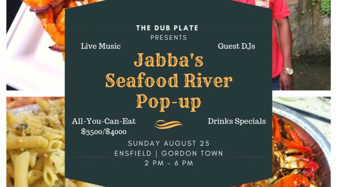 Save the Date for Jabba's Seafood River Pop-up!