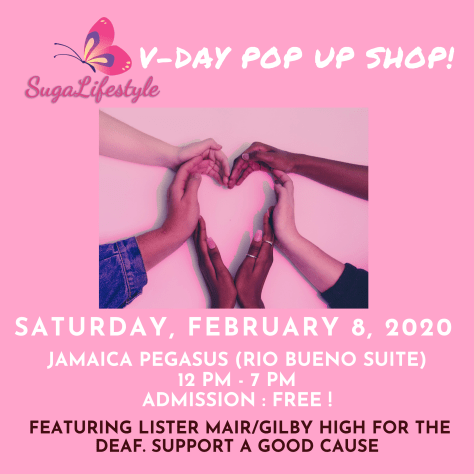 Suga Lifestyle's V-Day Pop Up Shop