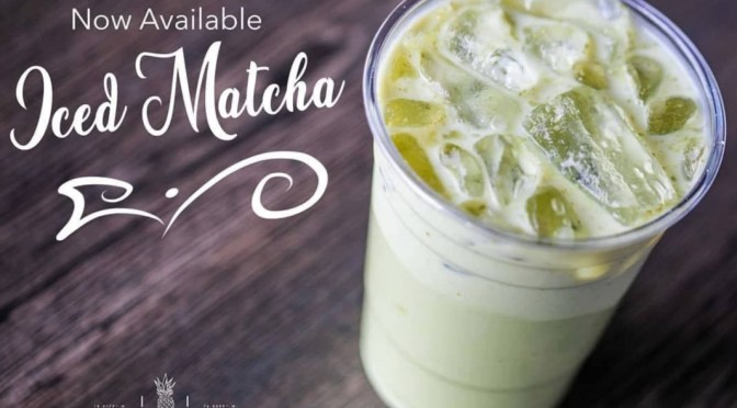 TGIF! Iced Matcha Now Available at Cafe Dolce!