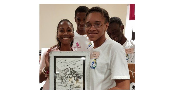 #tbt to the AWARD-WINNING 'Hands in Art' Art-tivity Project with Suga Lifestyle & Rotaract Club of New Kingston!