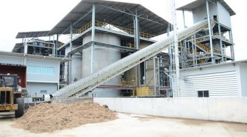 Ethanol plant of Thai Rung Ruang Energy Co., Ltd. at Saraburi province of Thailand