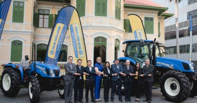 New Holland Agriculture launches new TT3.50 tractor in Thailand