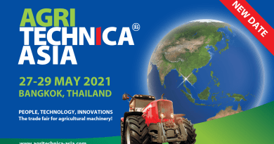 AGRITECHNICA ASIA and Horti ASIA postponed until May 2021