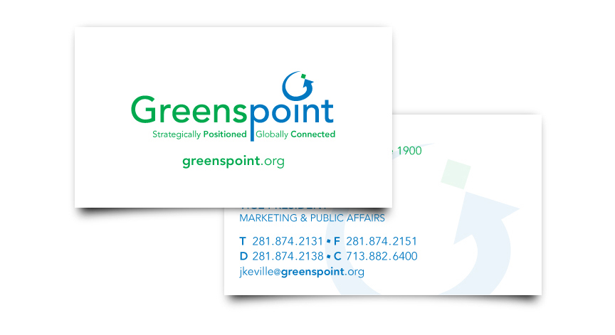 Greenspoint District Business Card