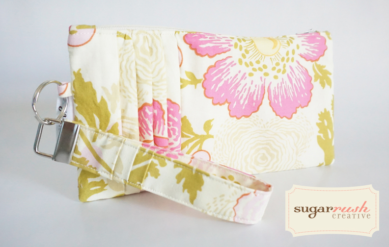 Side Pleated Clutch