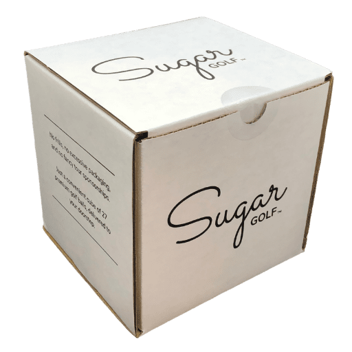 Sugar cube packed and ready to ship to customers
