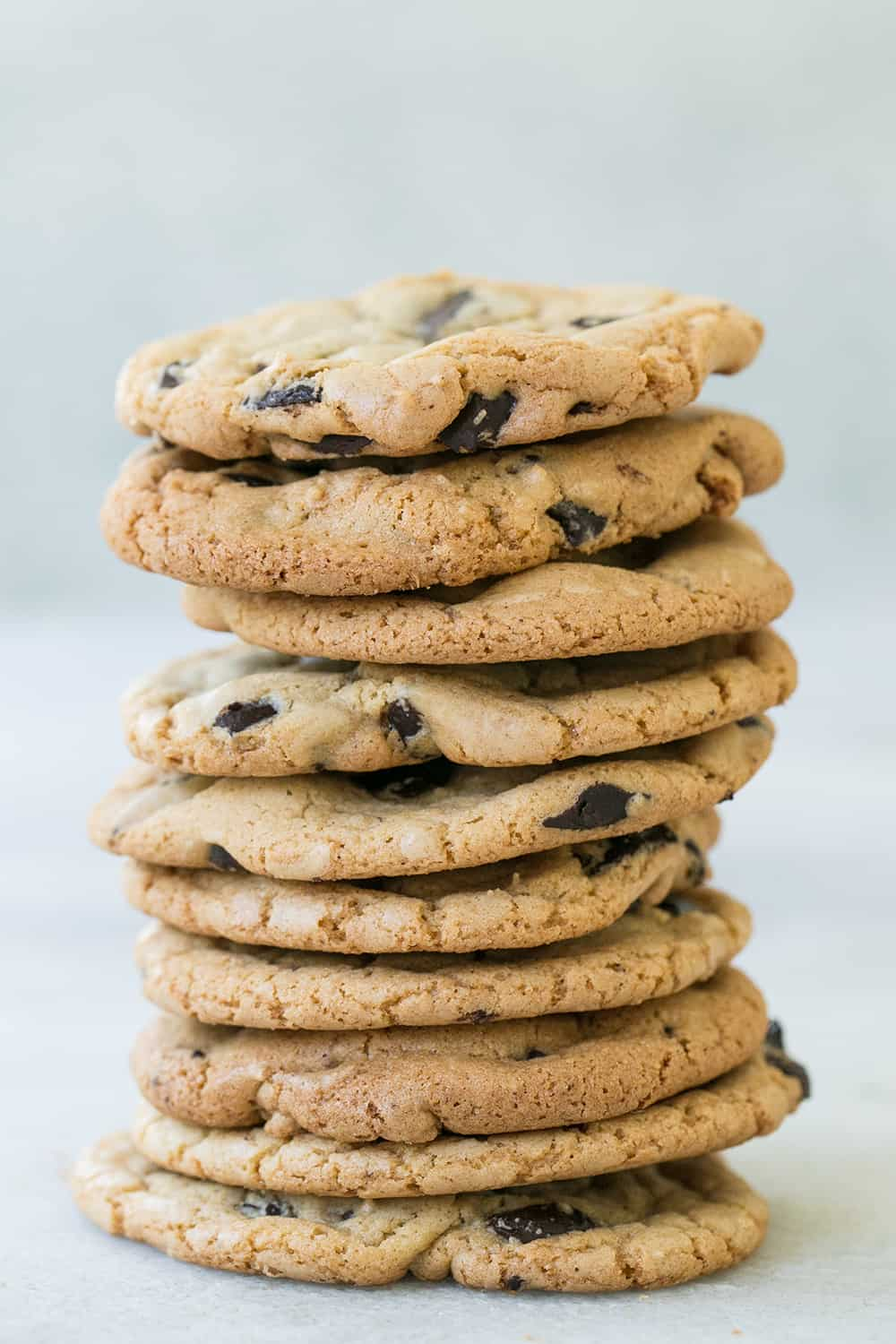 butter less chocolate chip