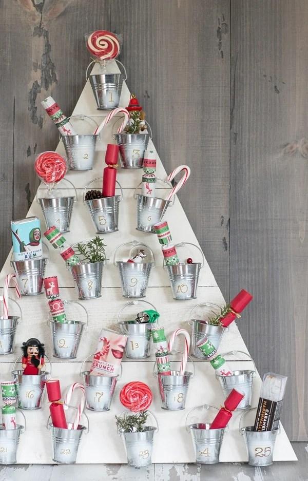 DIY Wood Advent Calendar Sugar And Charm