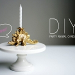 DIY // Party Animal Candle