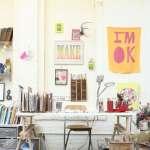 Decor // Artist's Space: Lisa Congdon