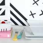 DIY Geometric Table Linens