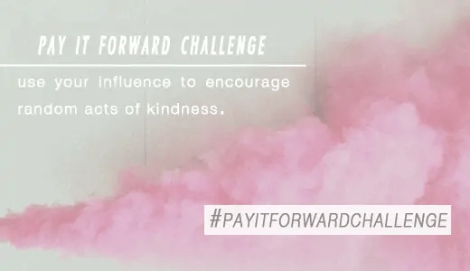 Use Your Influence: Pay It Forward Challenge - Sugar & Cloth - Houston Blogger - Give Back - Holiday