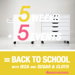DIY Back To School Events with Ikea