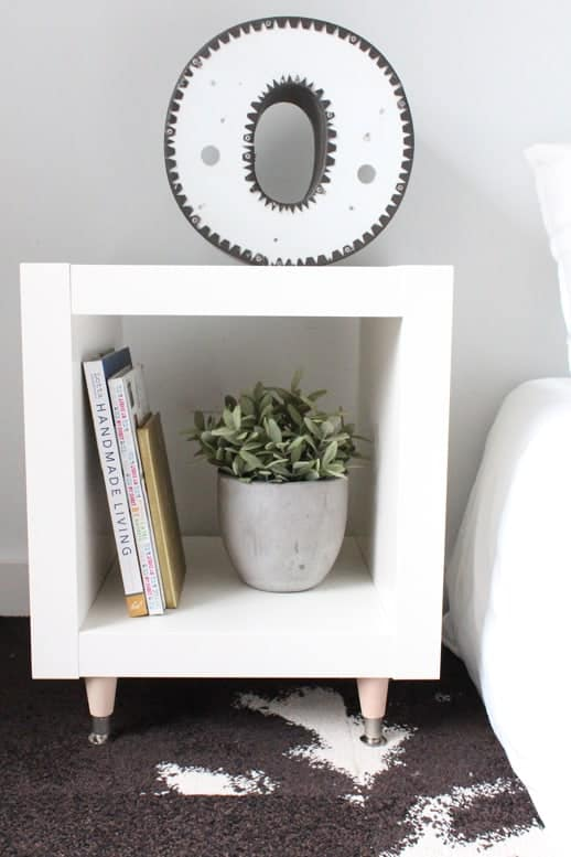 ikea living room tables black red and white diy hack sidetable to elevate your space side table under 40 top houston lifestyle blogger ashley rose