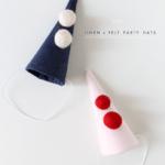 DIY Mini Party Hats for Bleubird!
