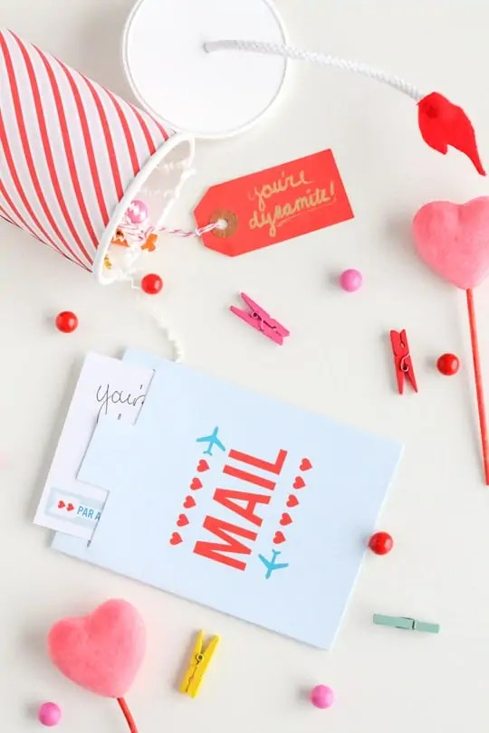 DIY you're dynamite valentine