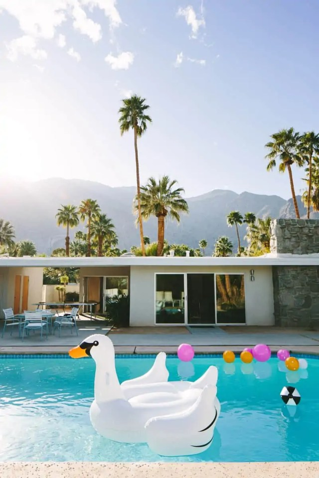 when in palm springs...