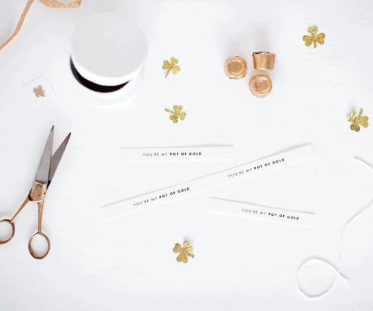 DIY You're My Pot of Gold Printables - DIY - Sugar & Cloth