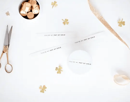 DIY You're My Pot of Gold Printables - DIY - Sugar & Cloth